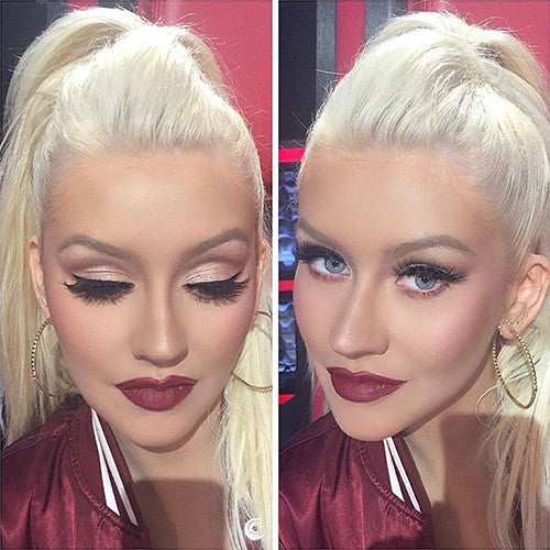 Christina Aguilera in Goddess Lilly Lashes