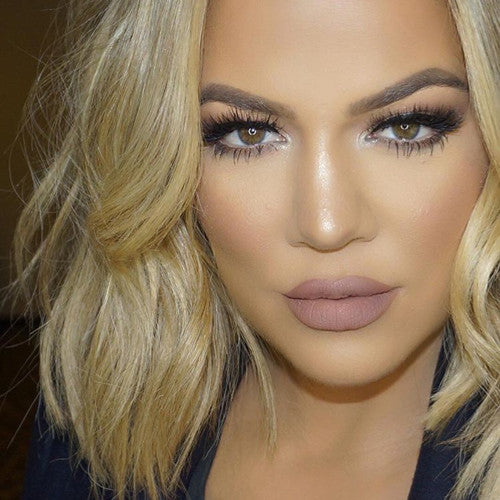 Khloe Kardashian in Paris Lilly Lashes
