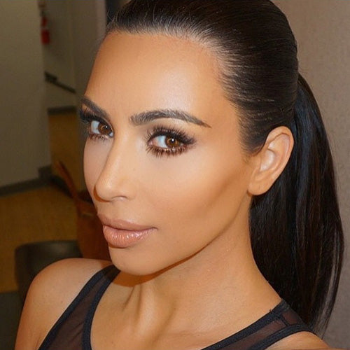 Kim Kardashian in Miami Lilly Lashes