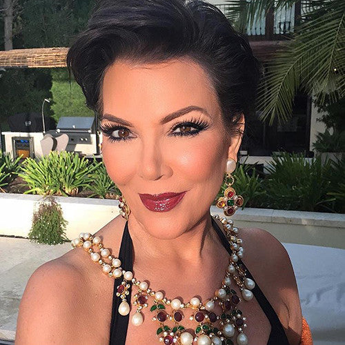 Kris Jenner in 3D Lilly Lashes
