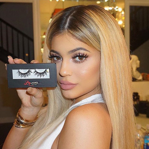 Kylie Jenner in Miami Lilly Lashes