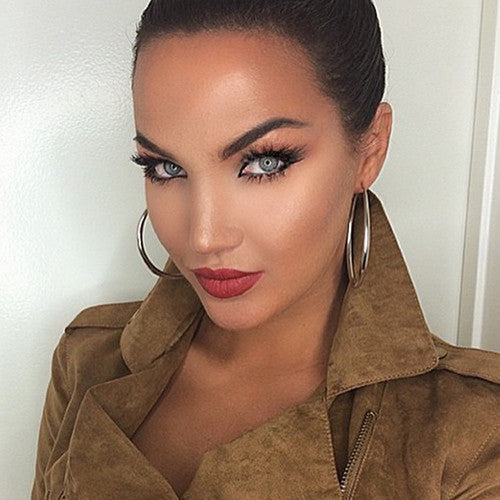 Natalie Halcro in Venice Lilly Lashes