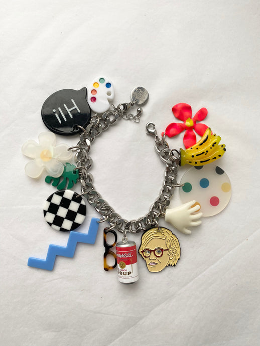 The MARILYN Pop art bracelet - Blackcurrantpop