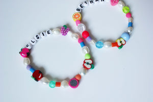 The ELSIE bracelet - Blackcurrantpop