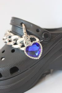 The MAGGIE Shoe Clasp - Blackcurrantpop