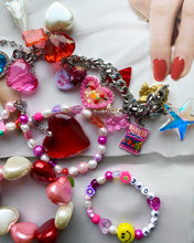 Load image into Gallery viewer, The VENUS self love bracelet - Blackcurrant Pop