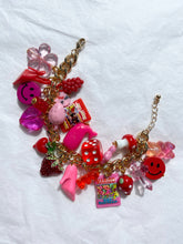 Load image into Gallery viewer, The DION Charm Bracelet - Blackcurrant Pop