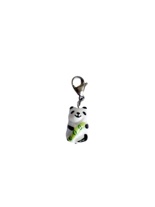 Ceramic Panda Charm - Blackcurrant Pop