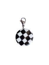 Load image into Gallery viewer, Checker Board Charm - Blackcurrant Pop