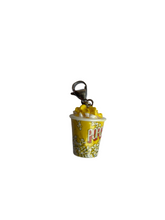 Load image into Gallery viewer, Popcorn Bucket Charm - Blackcurrant Pop
