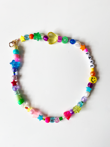 The LOLITA happy rainbow necklace - Blackcurrantpop