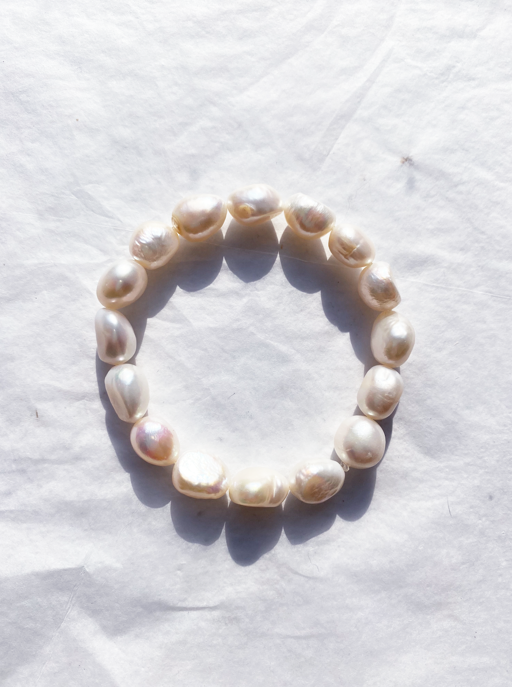 The ELLE Pearl Bracelet - Blackcurrantpop