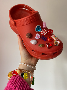 The MILEY Shoe Charms - Blackcurrant Pop