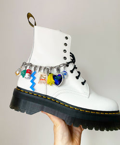 The NELLY Shoe Chain - Blackcurrantpop