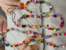Load image into Gallery viewer, The JULIET Phone beads - Blackcurrant Pop