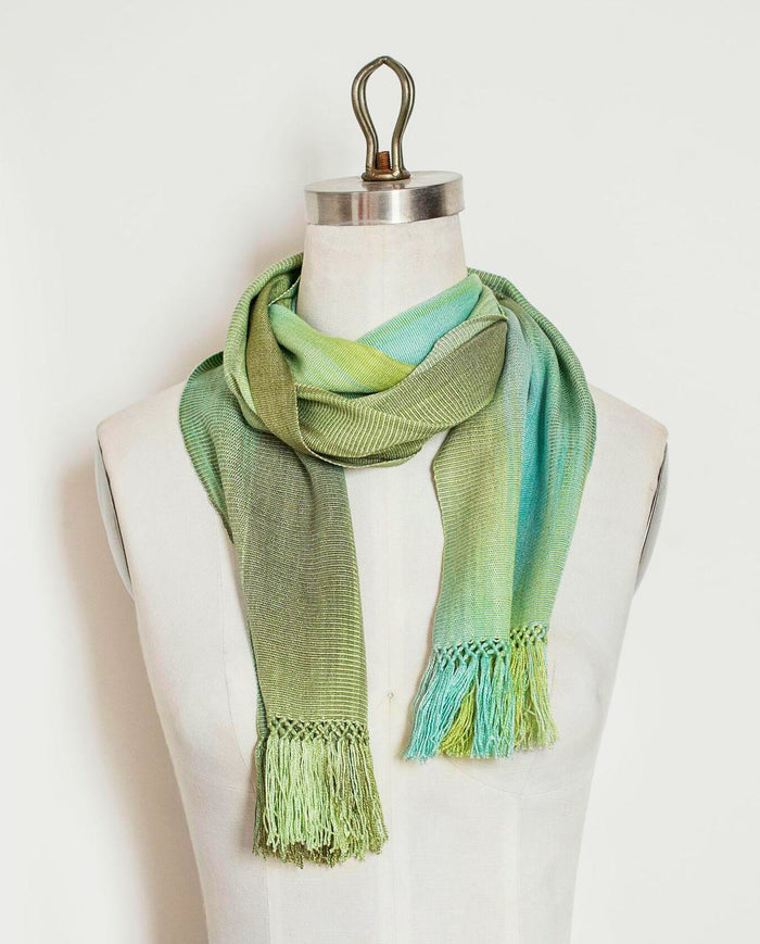 Organic Bamboo Long Scarves - Mist