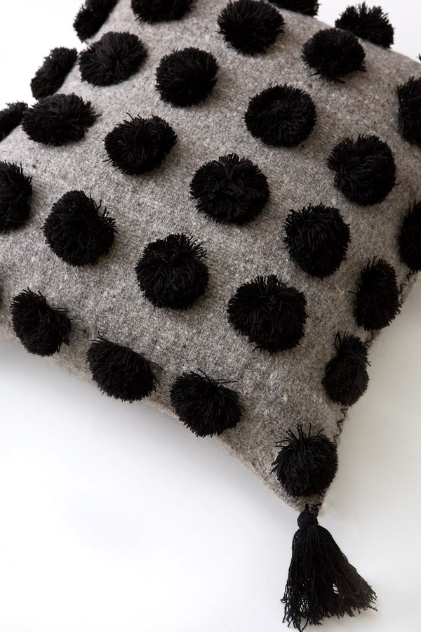ULA Pillow - Black on Grey
