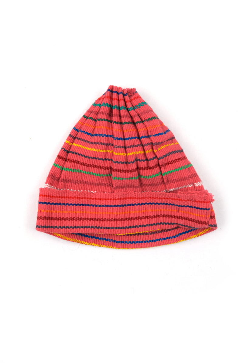 Woven Child's Cap - Pink