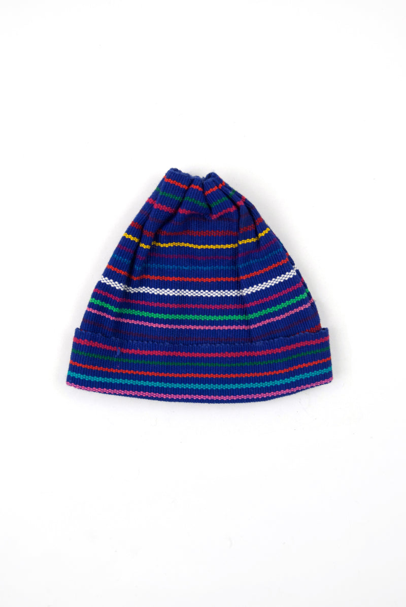 Woven Child's Cap - Navy