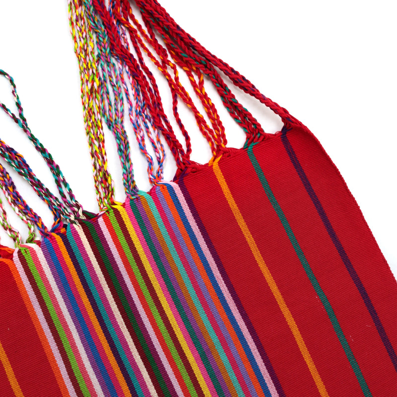 CHIAPAS Hammock Bag - Red Multicolor