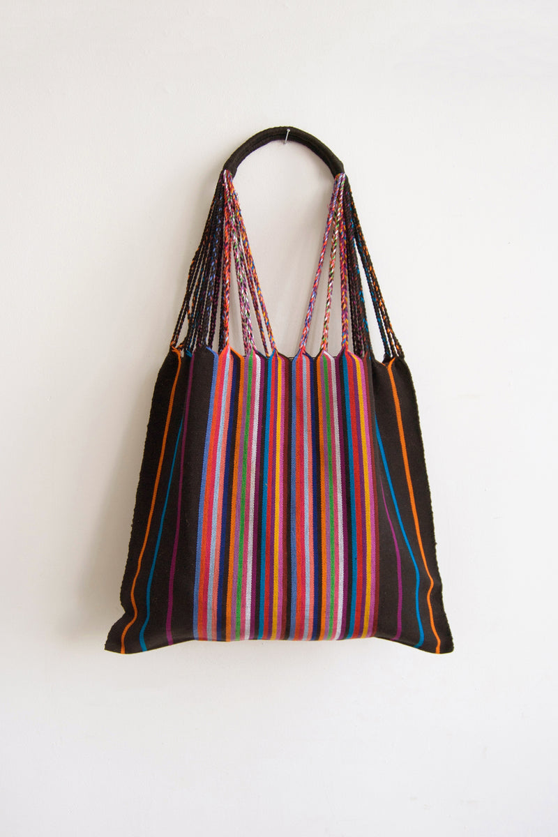 CHIAPAS Hammock Bag - Black Multicolor