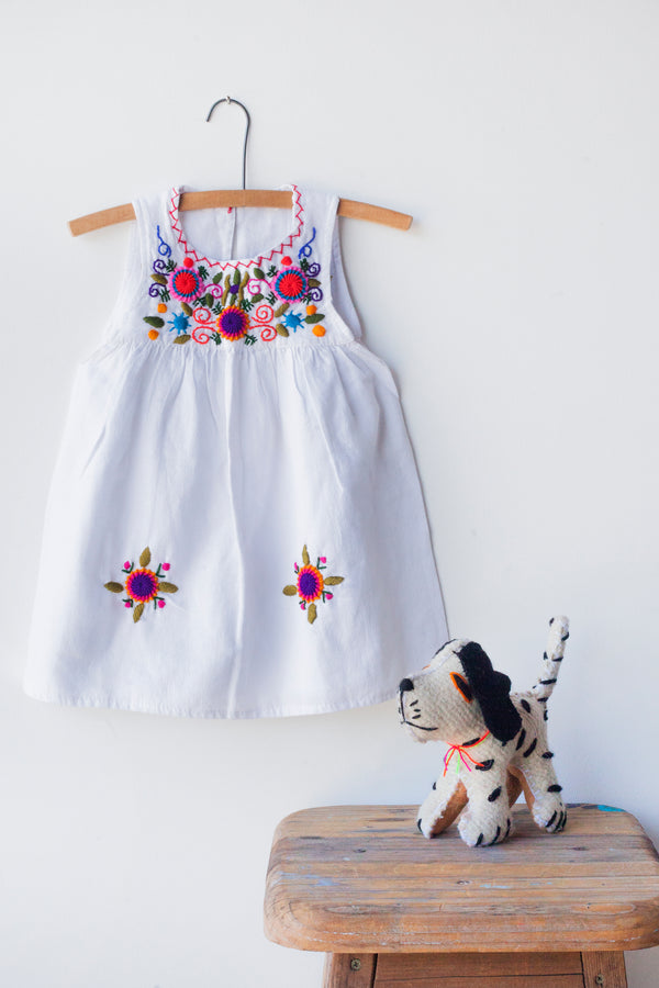 Jardinita Dress - White