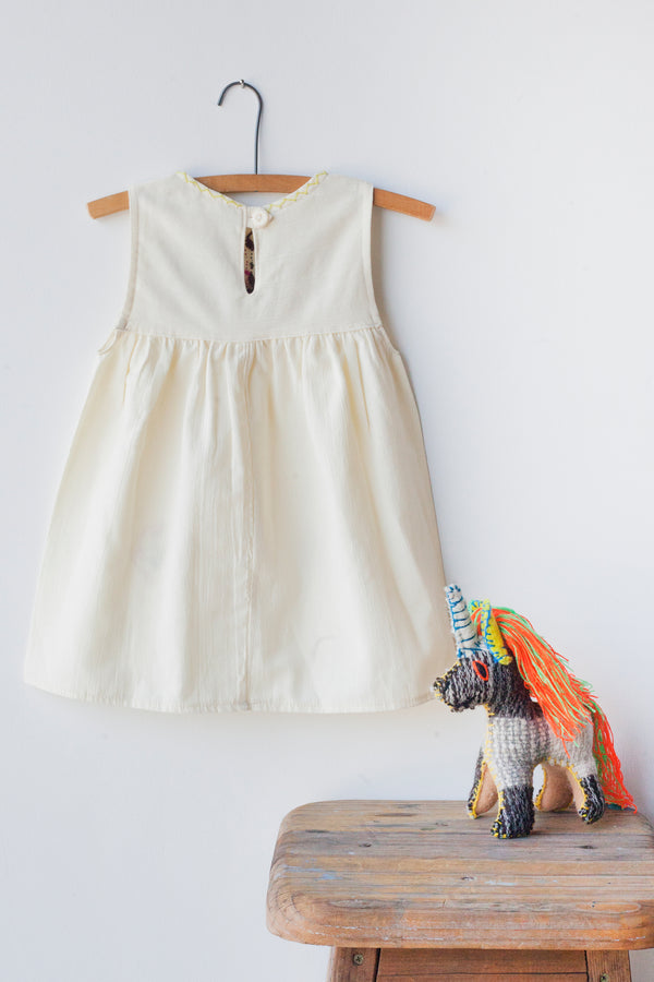 Jardinita Dress - Cream
