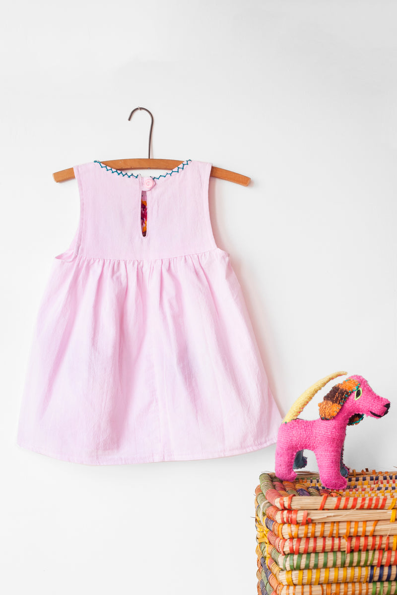 Jardinita Dress - Pale Pink
