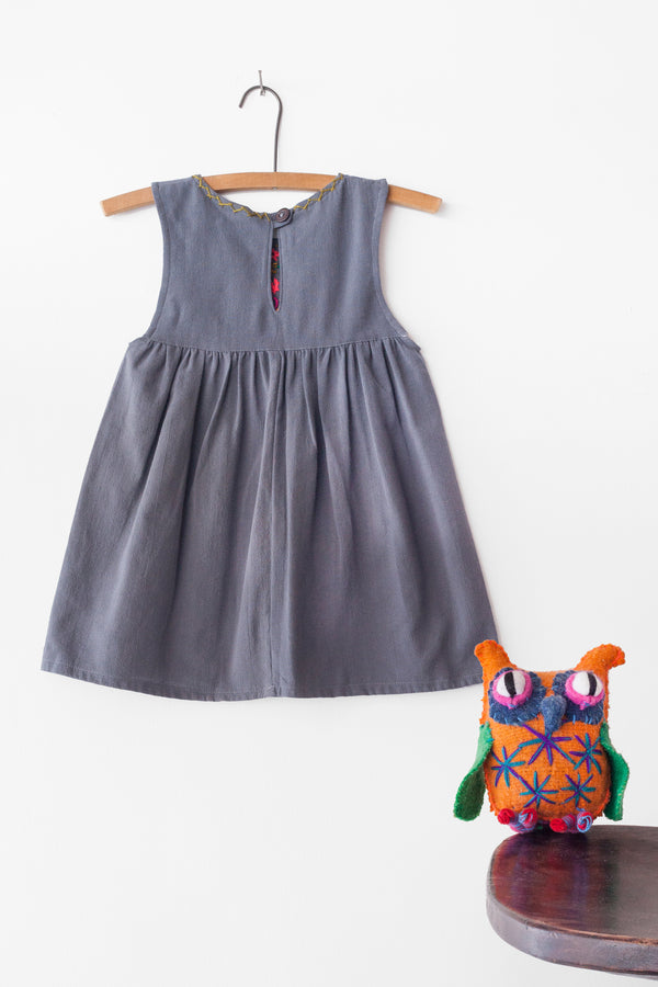 Jardinita Dress - Grey