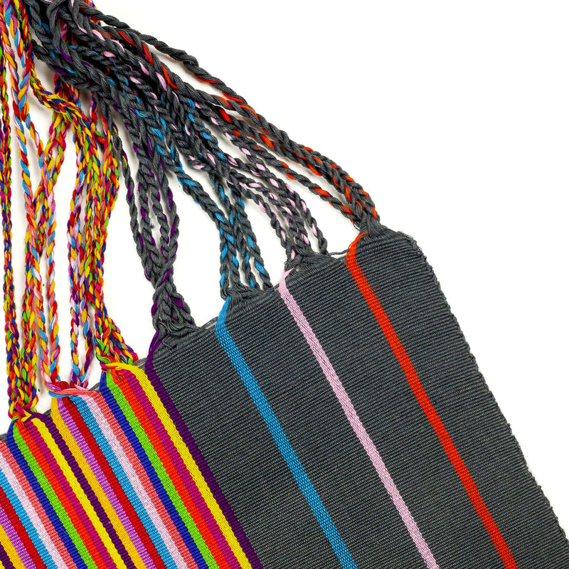 CHIAPAS Hammock Bag - Grey Multicolor