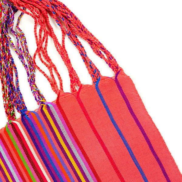 CHIAPAS Hammock Bag - Coral Multicolor