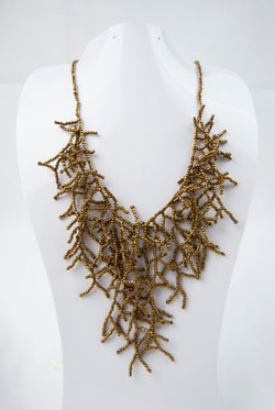 Beaded Coral Necklace - 9 Styles