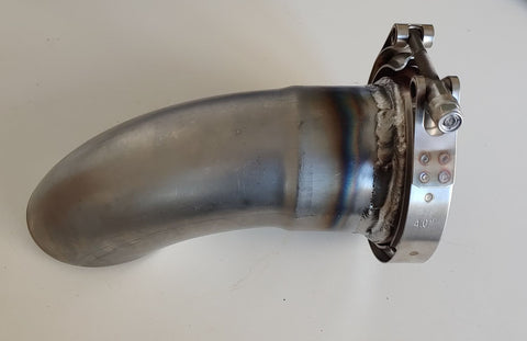 V-Band Exhaust Tip Turn Down 90 Degree *Mild Steel*
