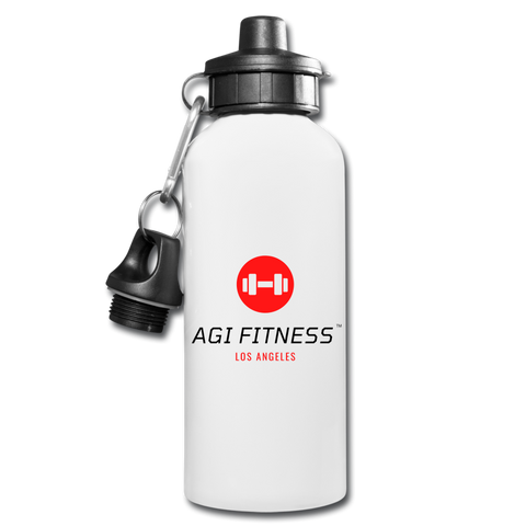 AGI Water Bottle - white