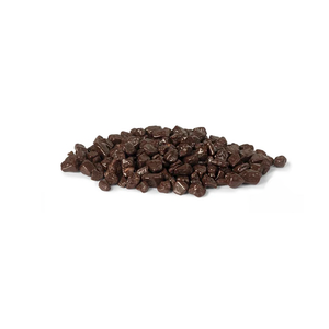 Dark Mini Chocorocks, Irregular dark chocolate bits, Callebaut Belgium, 1 kg Jar