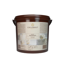 Load image into Gallery viewer, COW-5031 white icing sugar and Decor paste, Callebaut Belgium, 7 Kg Bucket