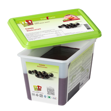 Load image into Gallery viewer, Cassis Blackcurrant frozen fruit puree, Capfruit France, 1 Kg Tub