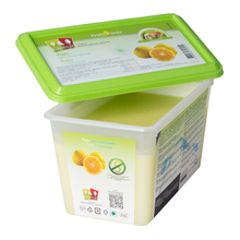 Load image into Gallery viewer, Yuzu frozen fruit puree, Capfruit France, 1 Kg Tub