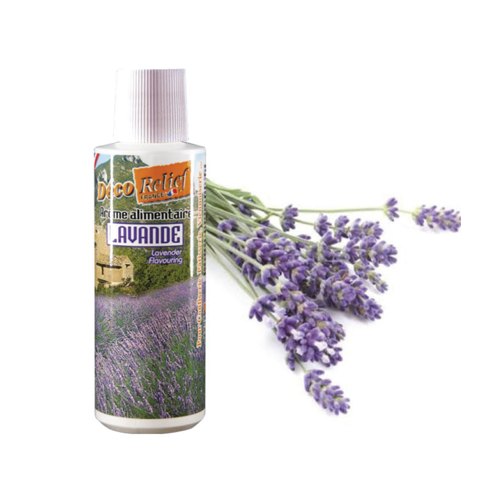 Deco Relief (France) Concentrated Aroma LAVANDER - 125ml bottle