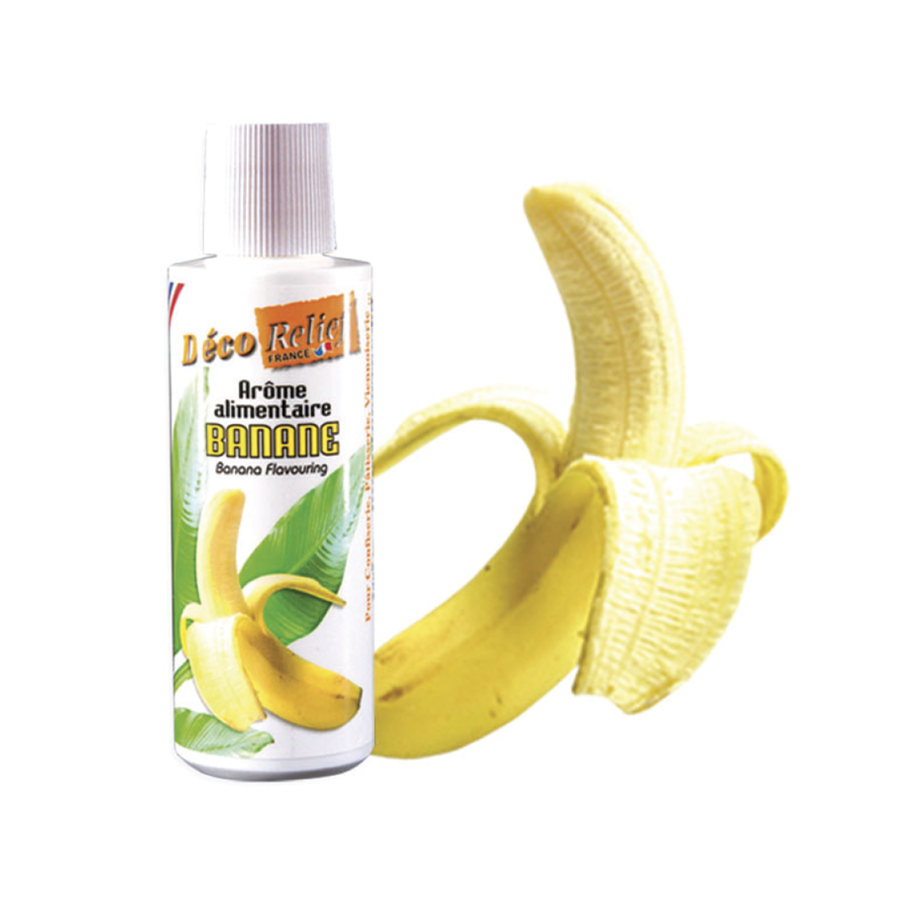 Deco Relief (France) Concentrated Aroma BANANA - 125ml bottle