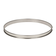 Load image into Gallery viewer, Deco Relief (France) Stainless Steel Tart Ring