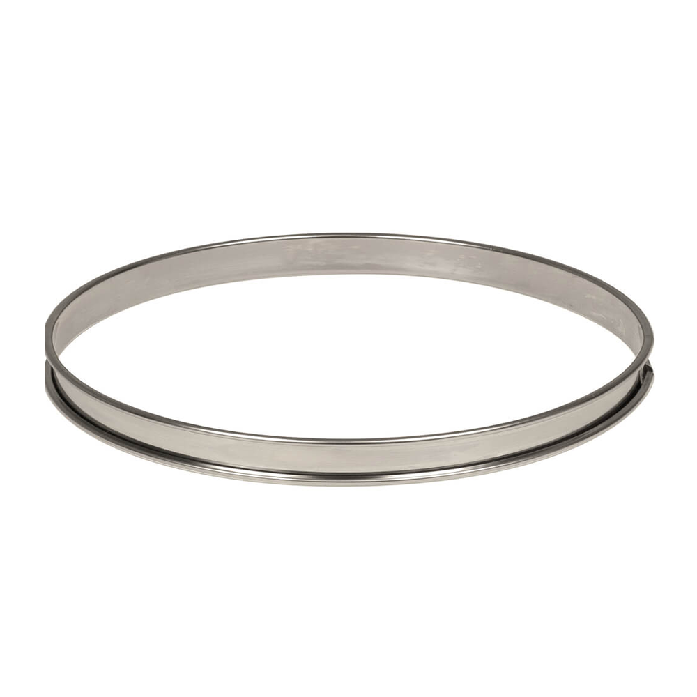 Deco Relief (France) Stainless Steel Tart Ring