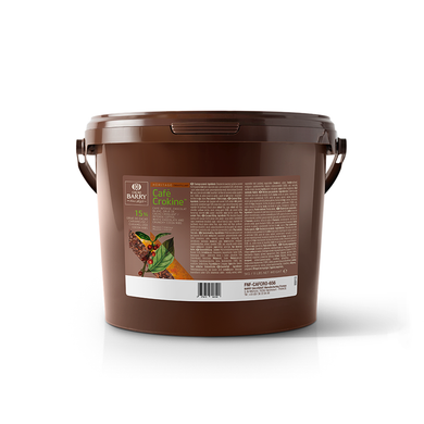 Crunchy filling Cafe Crokine, Cacao Barry France, 5 Kg Bucket