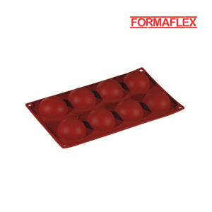 "Pavoni (Italy) Formaflex silicone mould ""Semiphere"" FR038"