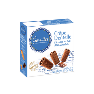 GAVOTTES (France) Milk Chocolate CREPE DENTELLE - 60gr Pack