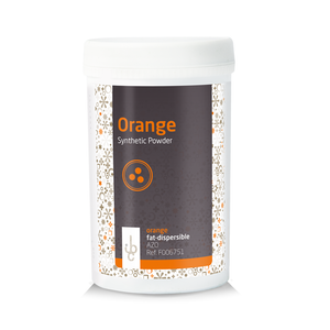 IBC (Belgium) Fat base Food Colouring Powder ORANGE - 100gr