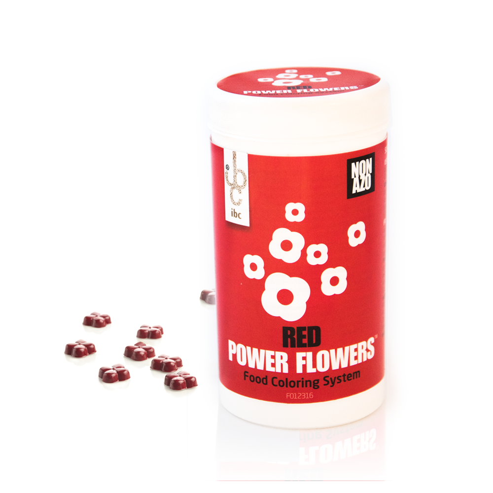 IBC Belgium Power Flowers™ RED color NON AZO - 50gr