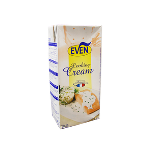 EVEN (France) Fresh UHT Cream 15%, COOKING CREAM - 1L Box