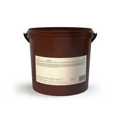 PNP Pure 100% natural hazelnut paste, nut based filling, Callebaut Belgium, 5 kg bucket
