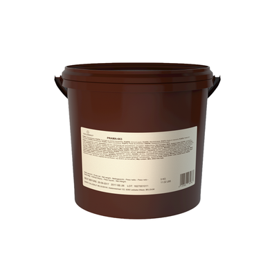 PRAMA almond praline paste, nut based filling, Callebaut Belgium, 5 kg bucket